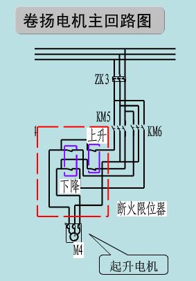 总结电动葫芦用到的电路图